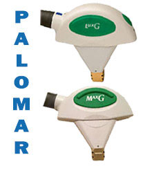 palomar lux g & max g handpieces