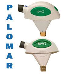 palomar lux g & max g handpieces